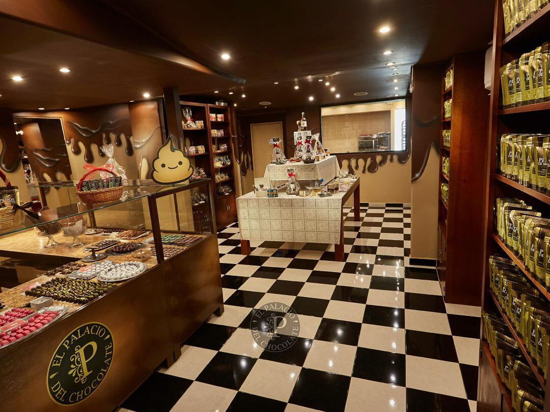 El palacio del chocolate